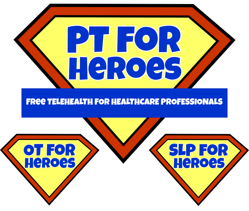 pt for heroes logos
